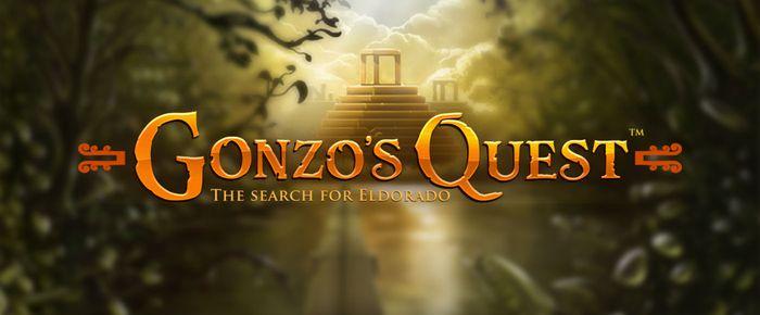 Gonzo's Quest Slot Logo Slots Racer